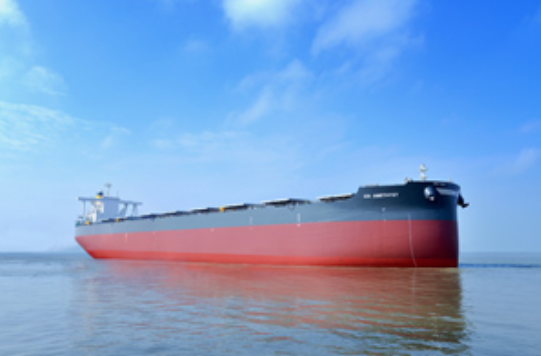 20170109クミアイナビゲーション向けばら積み船