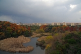 名谷落合方面の雲