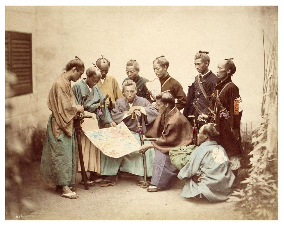 日本の侍たち