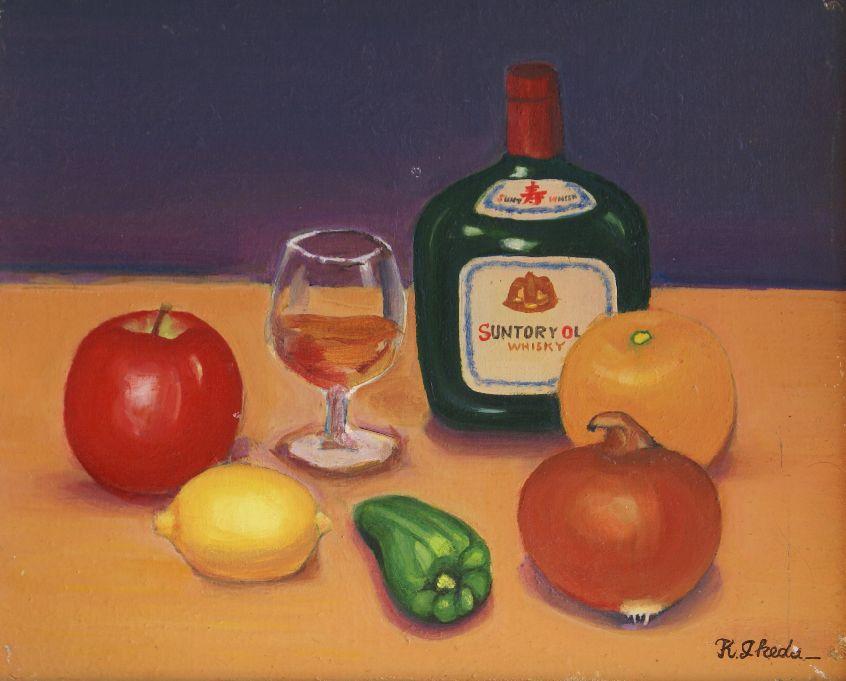 レモンとグラス