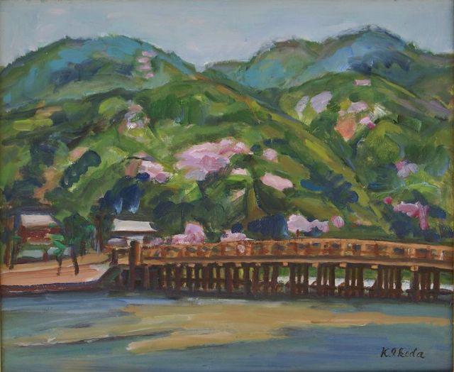 京都嵐山・渡月橋