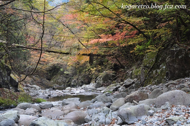 2016大芦渓谷の吊り橋