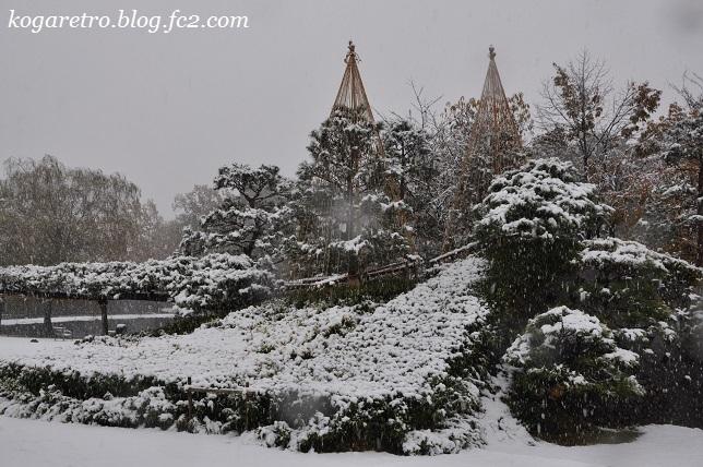 雪の古河総合公園7