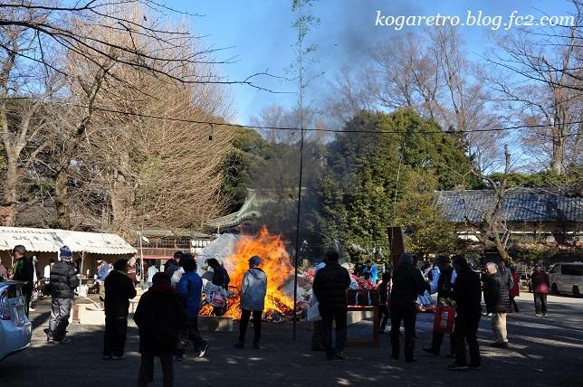 2017古河のどんど焼5