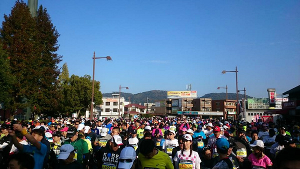 おかやまマラソン2016当日②