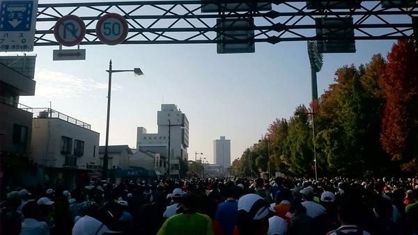 おかやまマラソン2016当日①