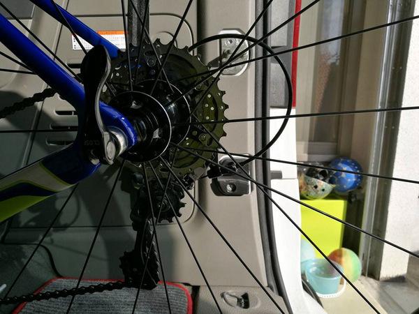 ロードバイク17.1.31②
