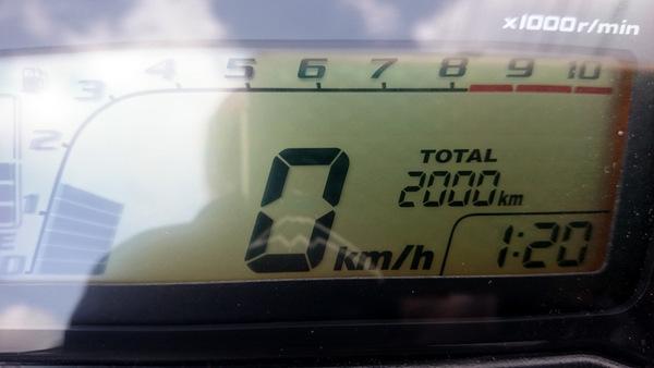グロム2000km