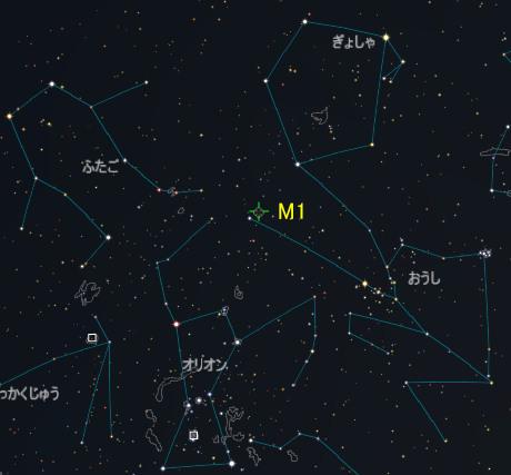 M001_かに星雲_おうし座_20170106M_iti