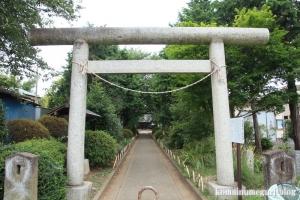 日進神社(さいたま市北区日進町)2
