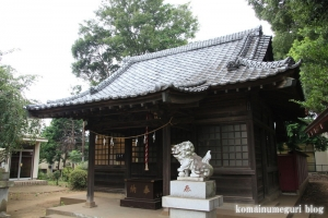 日進神社(さいたま市北区日進町)10