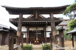 櫛引氷川神社(さいたま市大宮区櫛引町)6