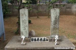 櫛引氷川神社(さいたま市大宮区櫛引町)12