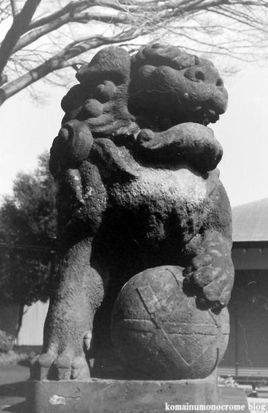 新曽氷川神社(戸田市氷川町)2
