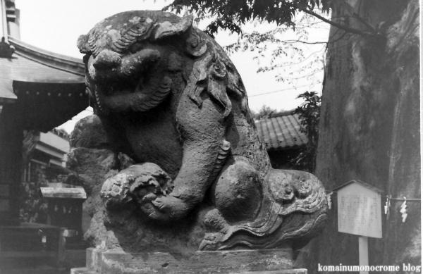 春日神社(多摩市連光寺)1
