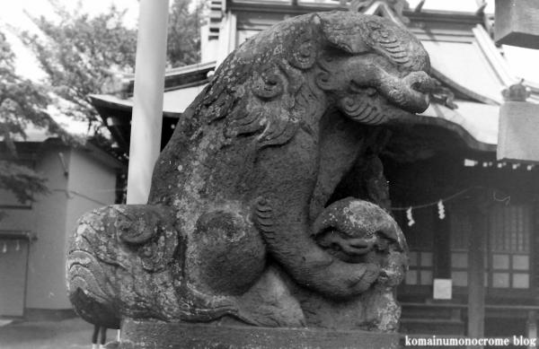 春日神社(多摩市連光寺)3