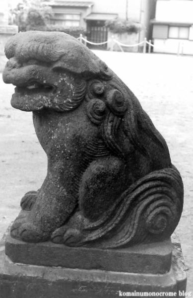 胡録神社(足立区西新井本町)1