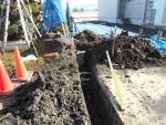 2016年年末・浄化槽の排水工事2