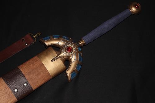 K様 非金属製ドラクエミュージアムverロトの剣&鞘7