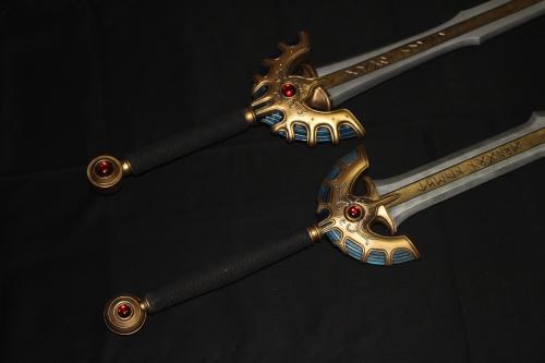 ゼネプロロトの剣とドラクエミュージアム仕様ロトの剣2