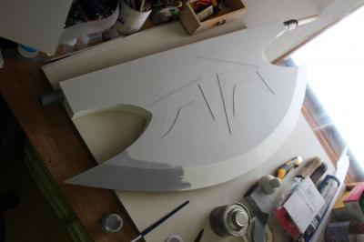 大湊雪乃の斧制作過程2
