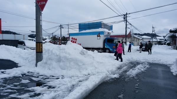 2017大雪車