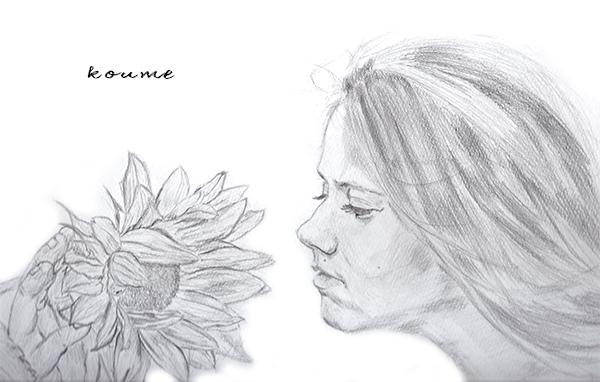 鉛筆画03