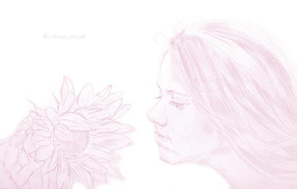 鉛筆画01