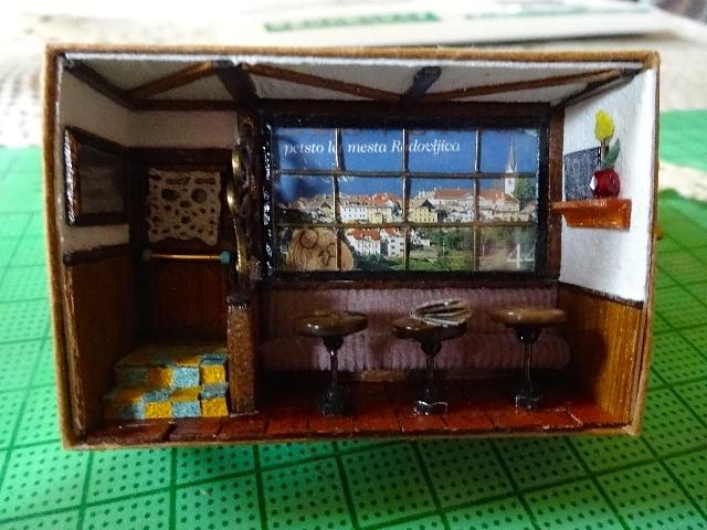 マッチ箱カフェ1