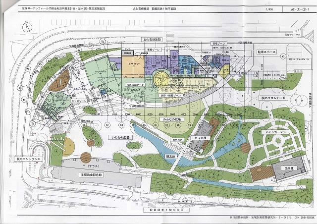 ガーデンフィールズ平面図