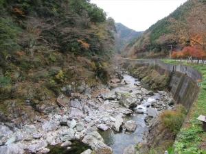 面河渓へ行く途中1