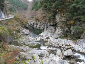 面河渓へ行く途中2