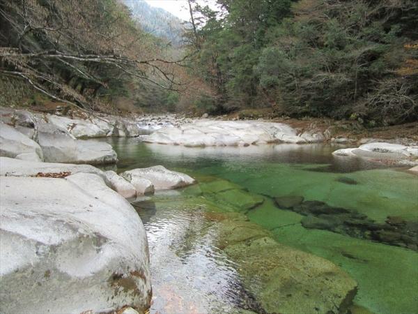 面河川本流ルート