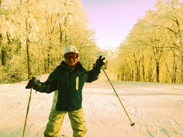 空/白馬スキー
