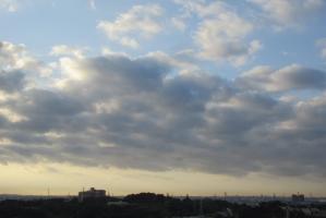 11月3日の雲