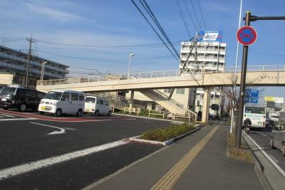 市立病院前歩道橋
