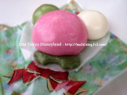 2016年 Tokyo Disneyland(東京ディズニーランド)のクリスマス その1 食べた物