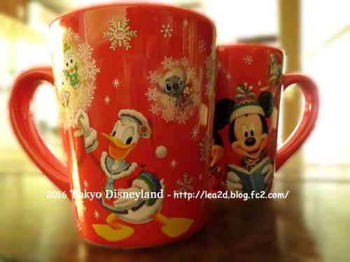2016年 Tokyo Disneyland(東京ディズニーランド)のクリスマス 買った物(スーベニアカップ)