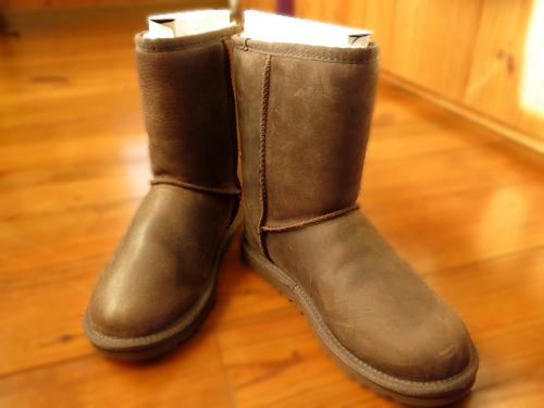 201605 ハワイでUGGを買うなら その2 W Classic Short Leather (1005093) BWST