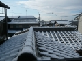 二階の屋根