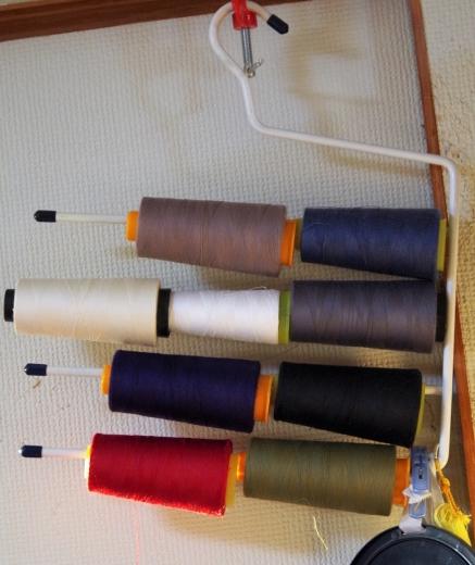 工業用ミシン糸を家庭用ミシンで使う方法