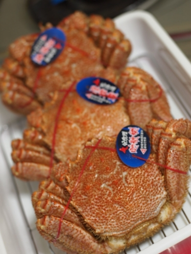 北海道 厚岸漁協直売店からお取り寄せした毛ガニ