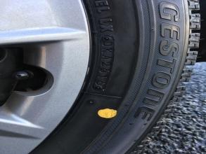 スタッドレスタイヤのゴム硬度測定! フリードハイブリッドに高性能スタッドレス(ブリヂストンVRX)を装着♪