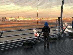 【大発見】 「GULLIVER'S DECK」♪ 子供と行こう!羽田空港国内線第1ターミナルにある「展望台の上の展望台」!