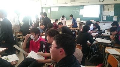 熊谷高校公開授業01