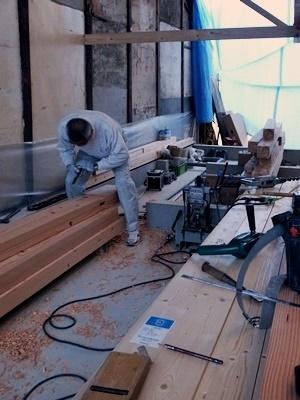 fumizononagaya木材刻み1611