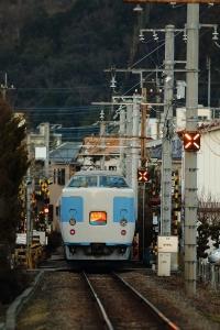 新宿へ向けて走り抜けていきました