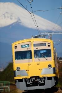 富士山ギッリギリ