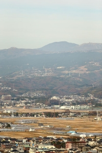 箱根山を仰ぎながら