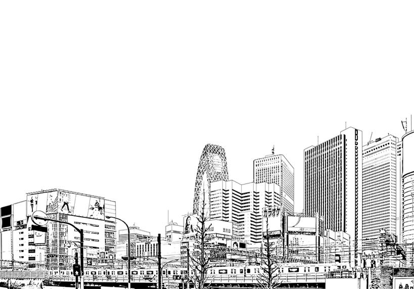 写真加工・漫画背景・新宿021
